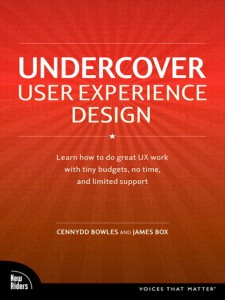 Undercover User Experience Design Front Cover